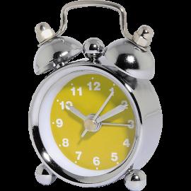 HAMA 113926 Nostalgia Alarm Clock, mini, Yellow