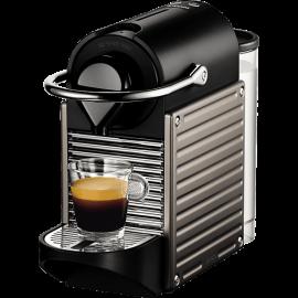 KRUPS Nespresso XN3005S Pixie Καφετιέρα Krups Electric Titanium