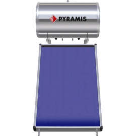 PYRAMIS 26001105 ΗΛ.ΘΕΡ.160LT ΕΠ.ΣΥΛ.2M2 ΤΡ.ΕΝ.