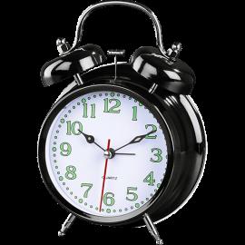 HAMA Nostalgia Alarm Clock Βlack - (123140)