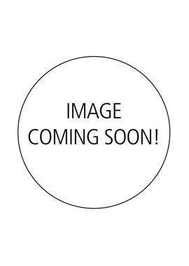 Ψηστιέρα κόκκινη με σχάρα 35x42x15εκ. 1200W - OEM